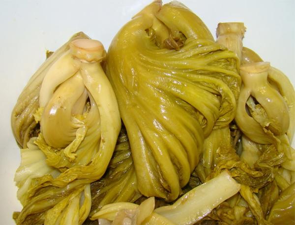 Cách nấu canh cải chua thịt bò