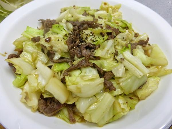 Cách làm thịt bò xào bắp cải