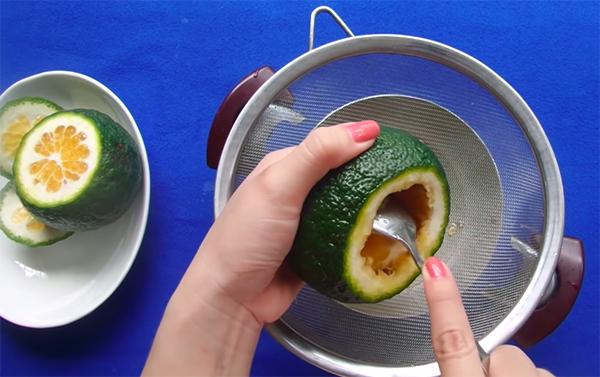 Cách làm rau câu cam