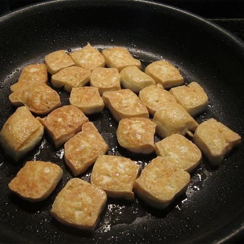 cách làm bún đậu mắm tôm đậu hủ chiên