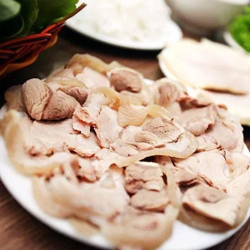 cách làm bún đậu mắm tôm thịt luộc