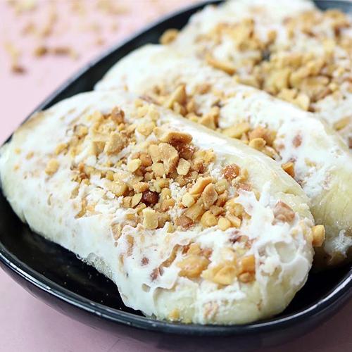 cách làm kem chuối bịch nước cốt dừa