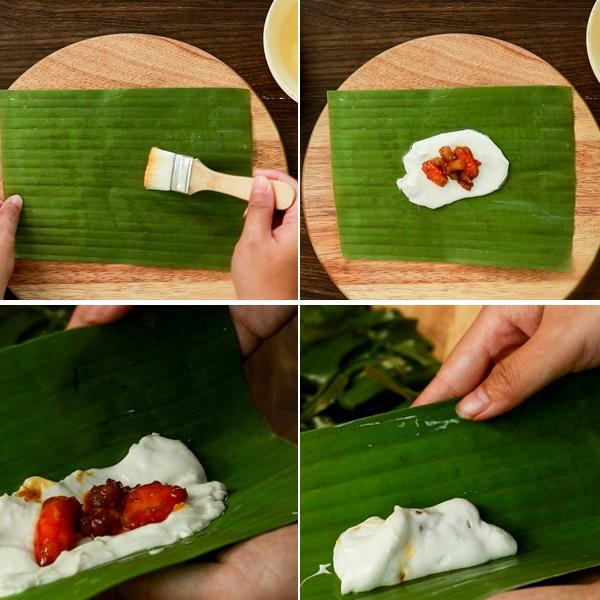 Cách làm bánh bột lọc Huế bằng lá chuối