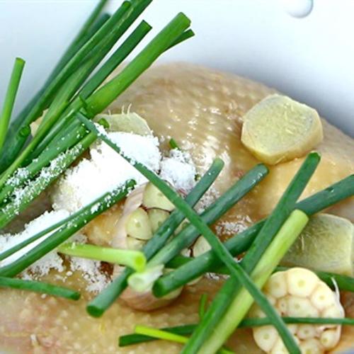 Cách nấu cơm gà hải nam