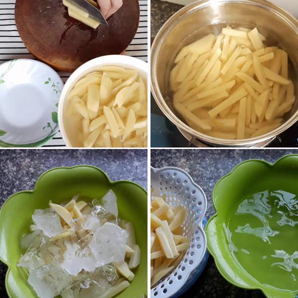 Cách làm khoai tây chiên giòn