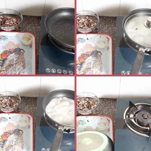 cách làm bánh cuốn bằng chảo chống dính