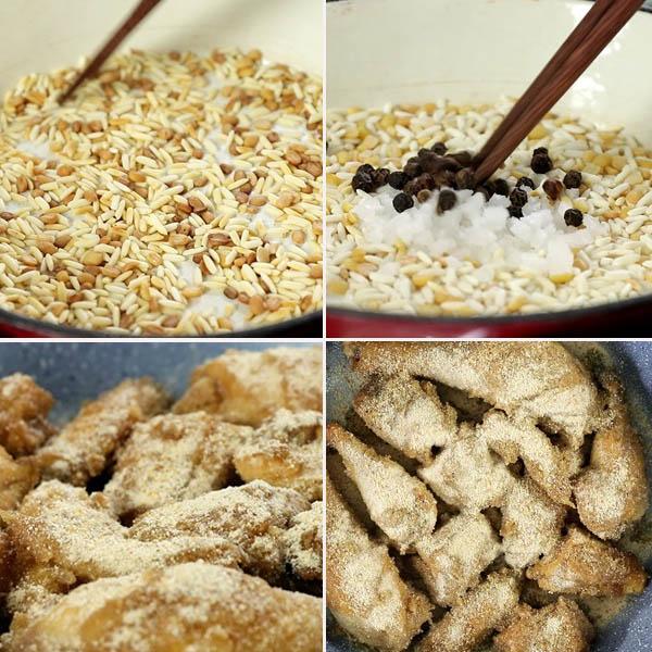 Cách làm gà rang muối sả thơm ngon