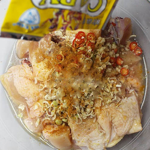 Cách làm cà ri gà