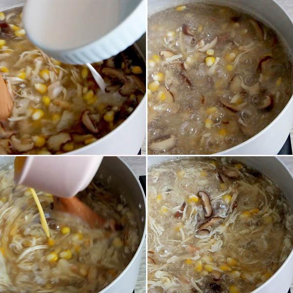 Cách nấu súp cua thập cẩm tại nhà