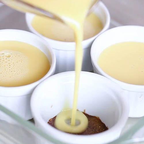 Cách làm bánh flan sữa tươi ngon