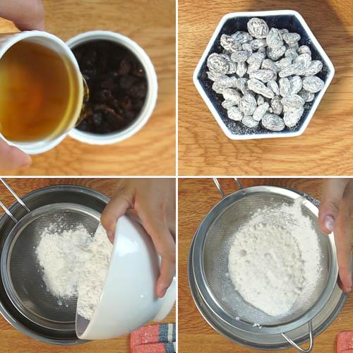 Cách làm bánh bông lan nho ngon tại nhà