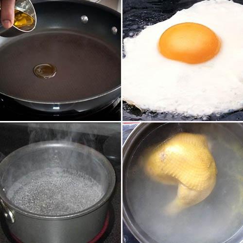 Cách làm cơm gà xối mỡ