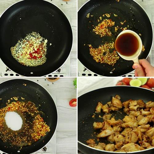 Cách làm sụn gà chiên nước mắm