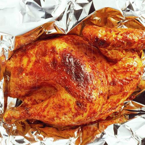 Cách làm gà nướng giấy bạc