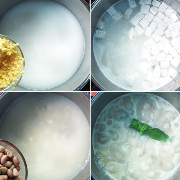 Cách nấu chè bà ba mùa hè