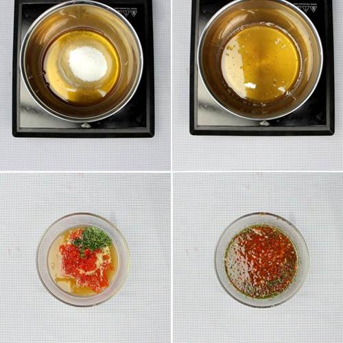 Cách pha nước mắm gỏi củ hủ dừa