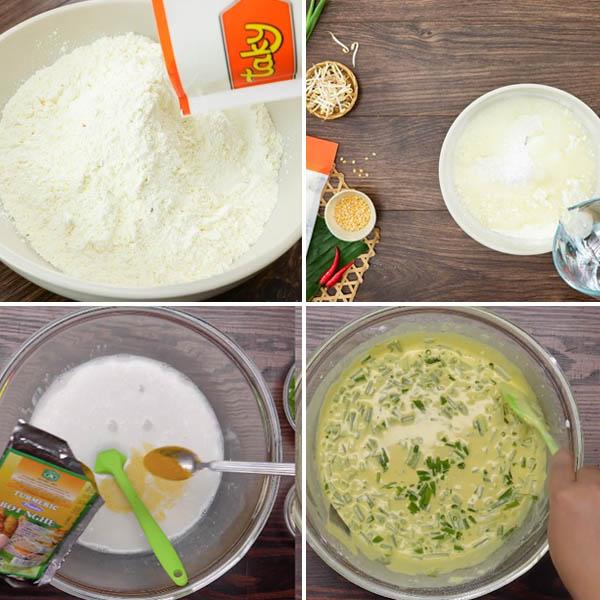 Cách làm bánh xèo miền tây