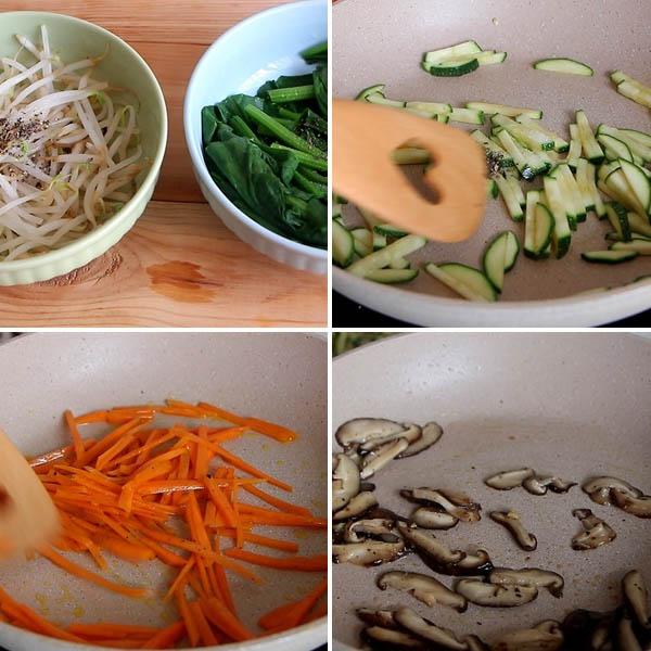 Cách làm cơm trộn Hàn Quốc tại nhà