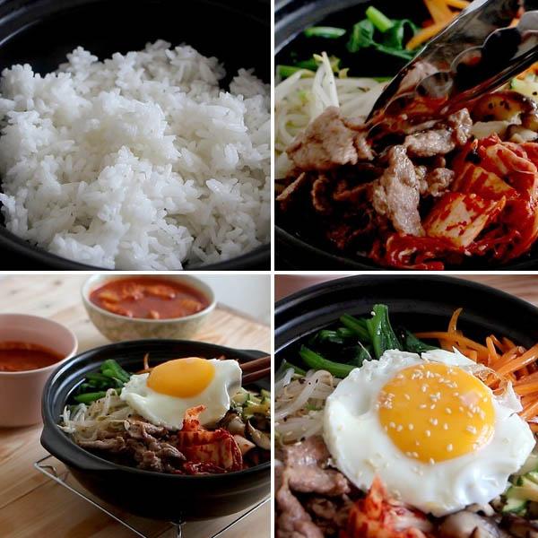 Cách làm cơm trộn Hàn Quốc đơn giản
