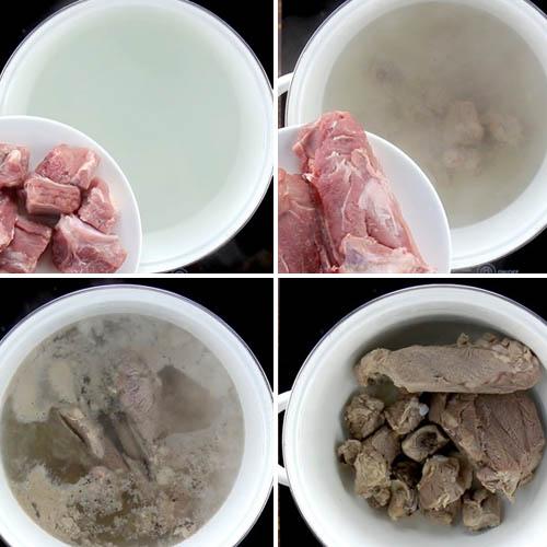 Cách nấu cháo sườn bằng bột