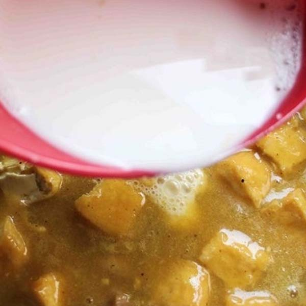 Cách nấu cà ri dê nước cốt dừa