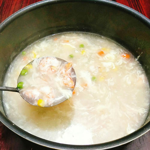 cách nấu súp tôm