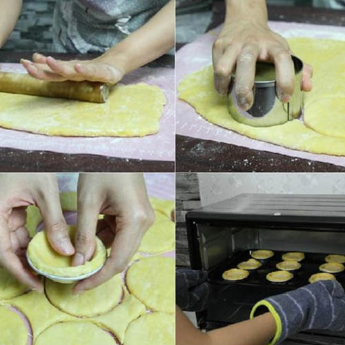 nướng bánh tart trứng nướng