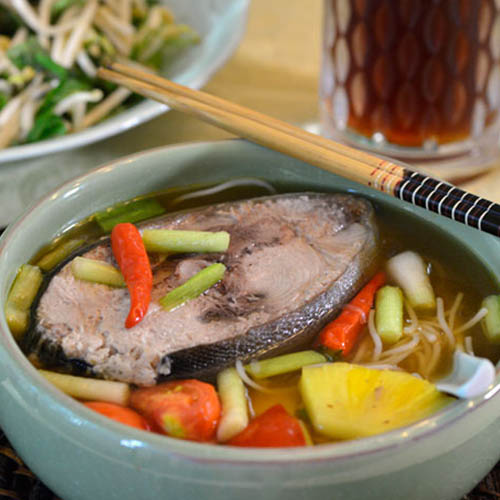 Cách nấu bún cá ngừ