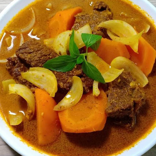 cách nấu bò kho nước cốt dừa tươi