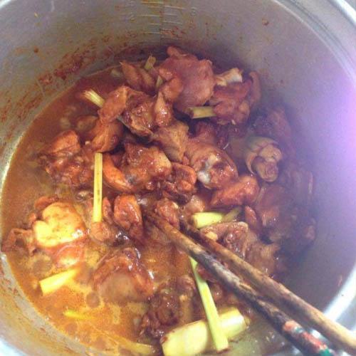 cách nấu bún cà ri gà