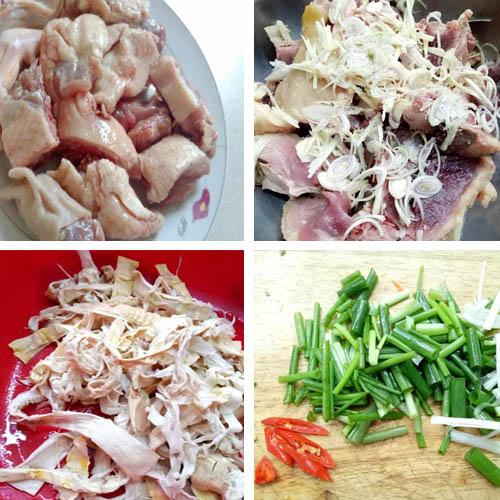 Cách làm vịt nấu măng khô