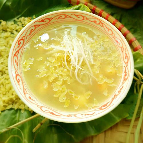 cách nấu chè hạt sen khô đậu xanh
