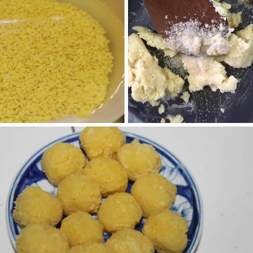 cách làm bánh bao nhân đậu xanh