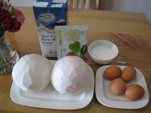 cách làm bánh flan rau câu dừa