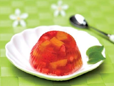 Cách làm thạch rau câu trái cây ngọt mát