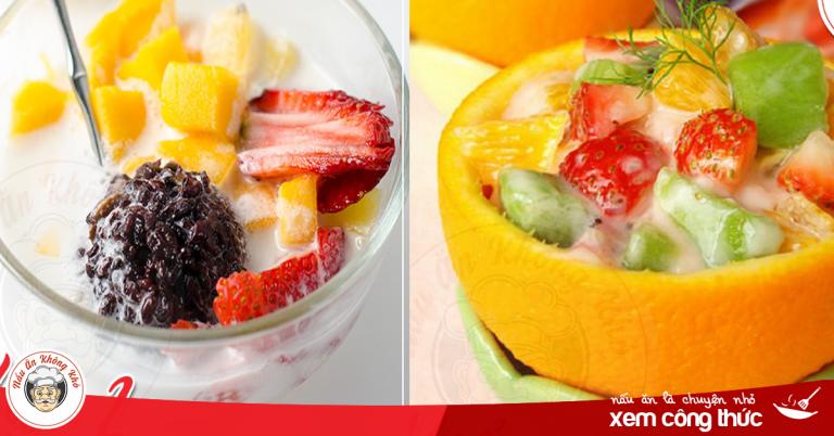 11 cách làm hoa quả dầm tươi mát thơm ngon