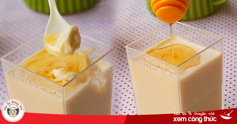Cách làm Pudding đậu nành giảm cân, giải nhiệt vô cùng đơn giản tại nhà