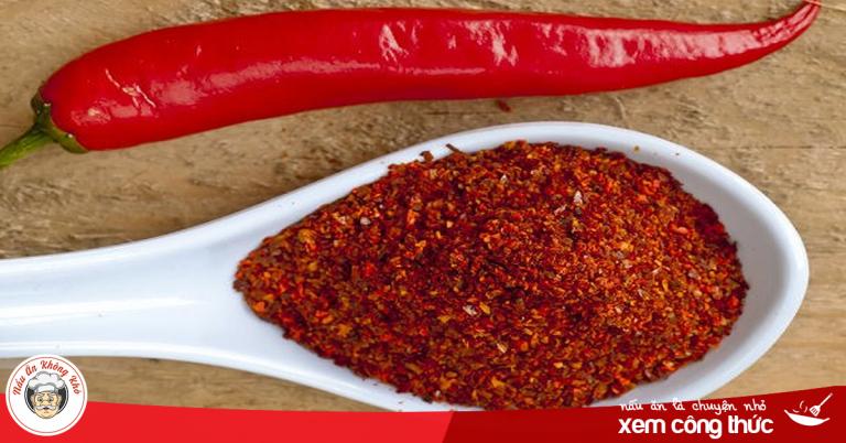 3 cách làm bột ớt đơn giản bạn nên biết