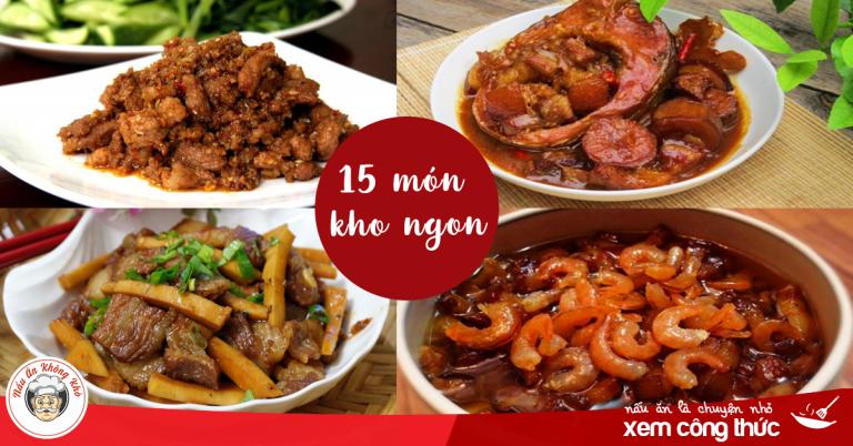 Tổng hợp 15 cách kho thịt heo thơm ngon, phong vị món ăn gia đình Việt