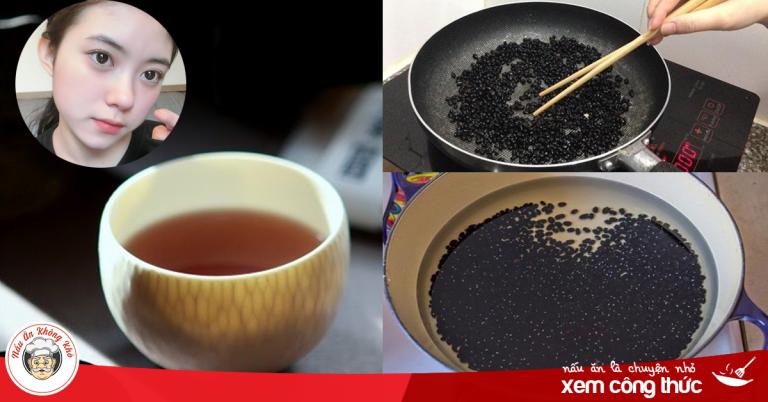 Bí quyết nấu nước đậu đen đúng cách giúp U40 trẻ như như tuổi 20, chống lão hóa cực tốt