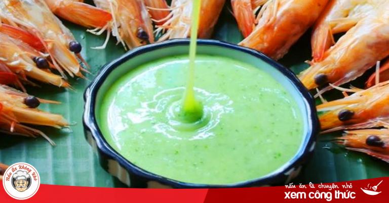 Cách làm muối ớt xanh chấm đồ nướng hoặc hải sản ngon miễn chê
