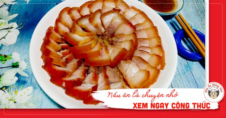 Học cách làm thịt xá xíu ngon miễn chê từ mẹ Bon ai ăn cũng ghiền