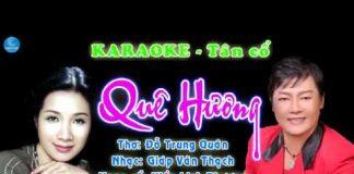 karaoke tân cổ quê hương
