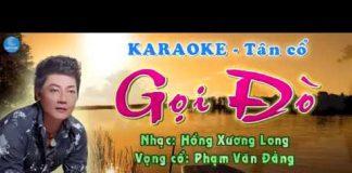 karaoke tân cổ gọi đò