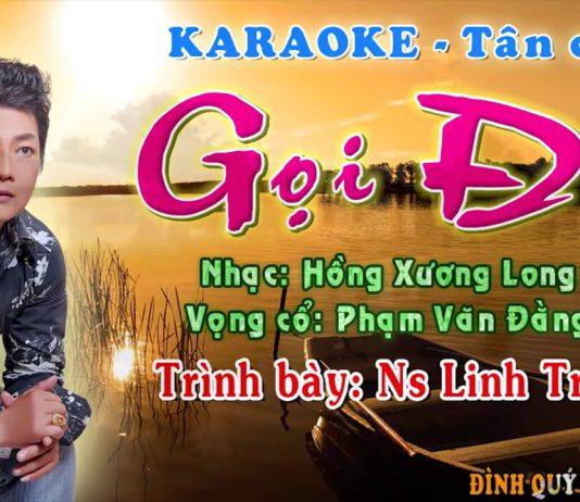 beat karaoke tân cổ giao duyên gọi đò