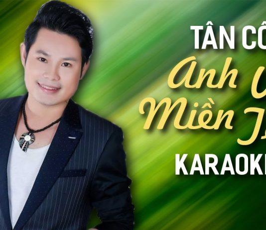Karaoke Tân Cổ Anh Về Miền Tây - Bùi Trung Đẳng