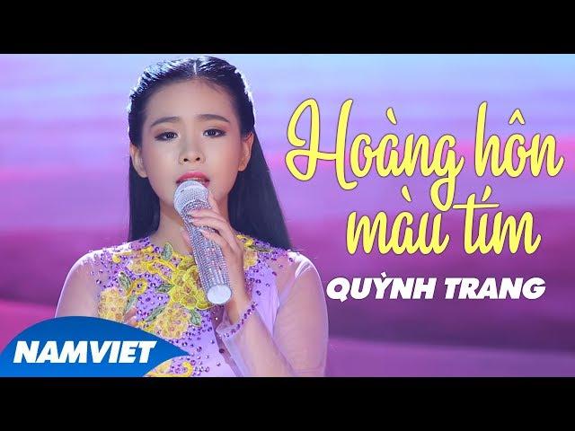 Hoàng Hôn Màu Tím - Quỳnh Trang (MV OFFICIAL)