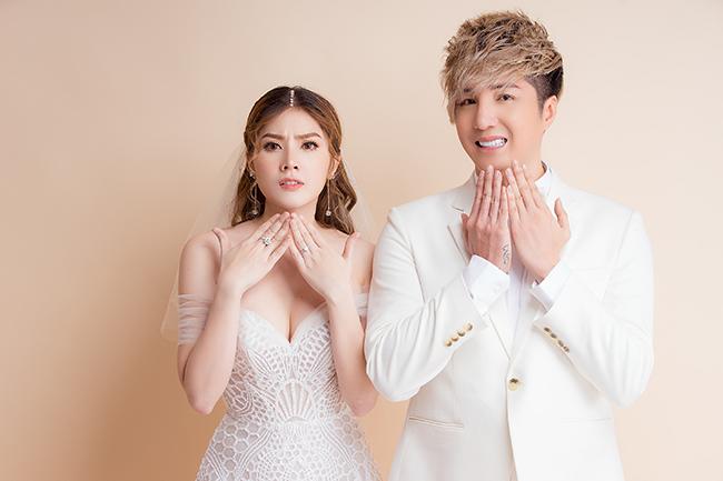 ca sĩ lâm chấn khang và vợ Kim Jun See