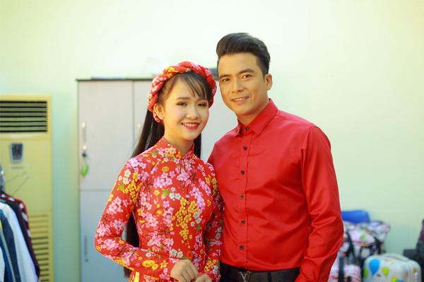Ca sĩ Lê Sang và Kim Chi